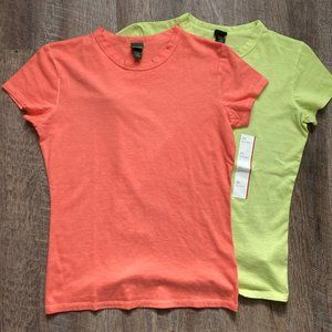 Wild Fable Baby Tee Top Set of 2 XS New